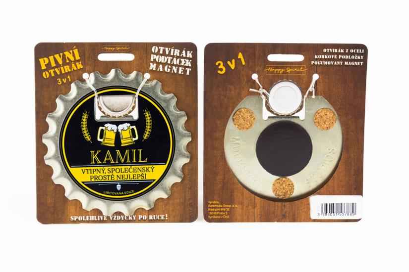 Pivní otvírák Kamil