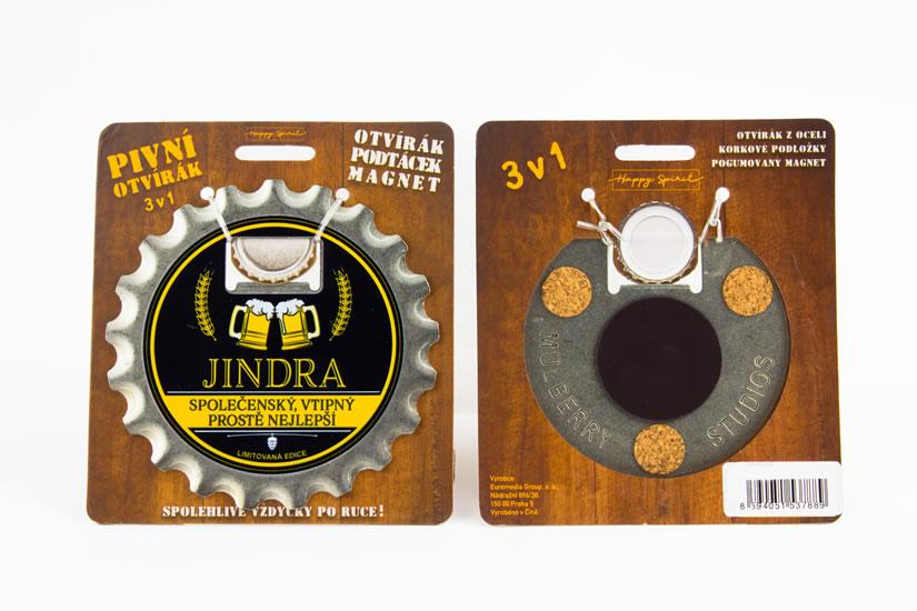 Pivní otvírák Jindra