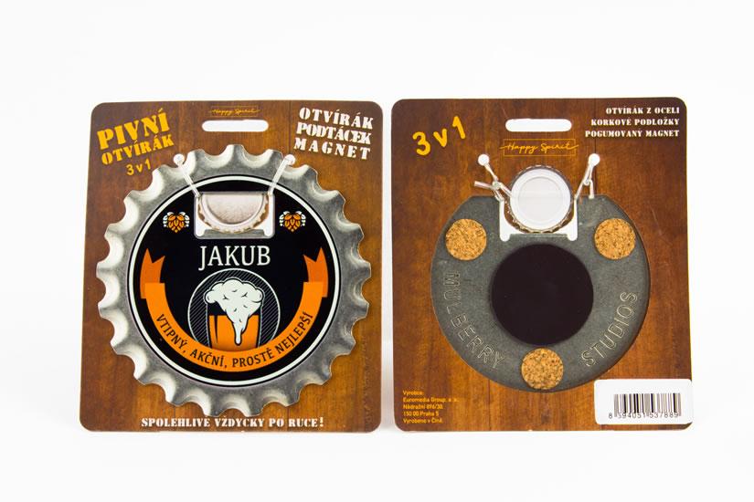 Pivní otvírák Jakub