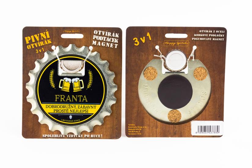 Pivní otvírák Franta