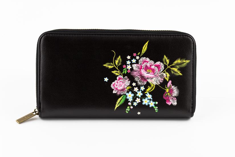 Peněženka velká Růže - Designové peněženky