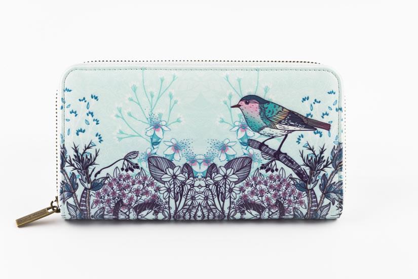 Peněženka velká Ptáček - Designové peněženky