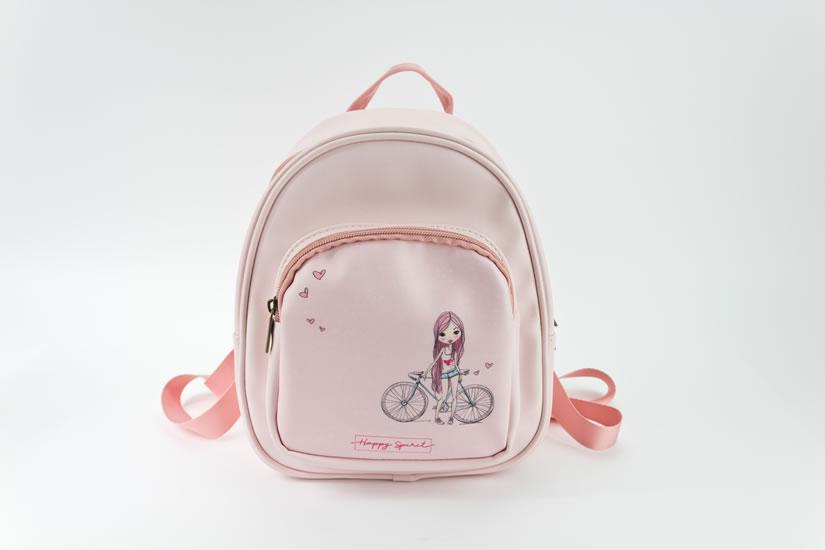 Batůžek Dívka s kolem - Tašky a batůžky