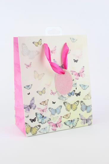 Taška medium Motýli - Dárkové tašky