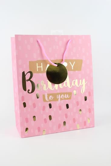 Taška large Happy Birthday - Dárkové tašky