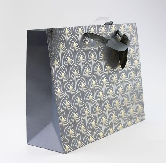 Taška large Zlatý vzor  - Dárkové tašky