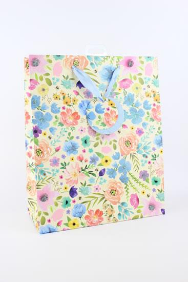 Taška large Květiny - Dárkové tašky