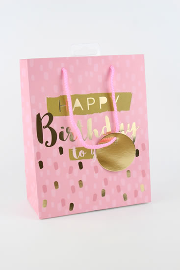 Taška medium Happy Birthday - Dárkové tašky