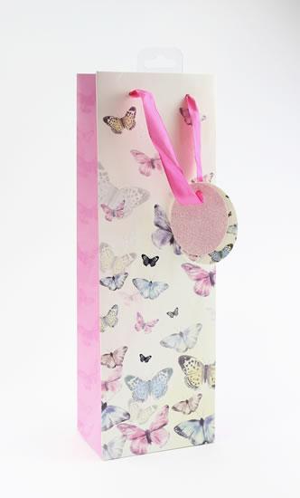 Taška lahev Motýli - Dárkové tašky