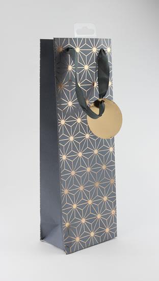 Taška lahev Bronzový vzor - Dárkové tašky