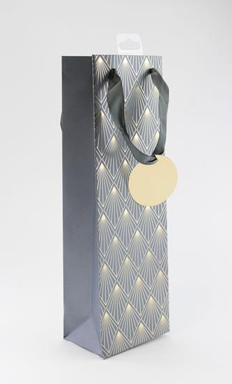 Taška lahev Zlatý vzor - Dárkové tašky