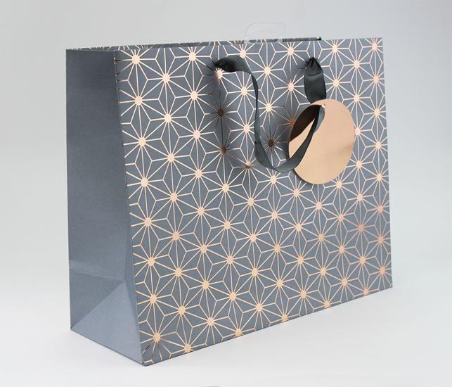 Taška medium Bronzový vzor - Dárkové tašky