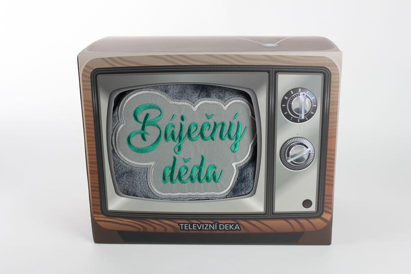 Televizní deka Úžasný děda - Dárky Happy Spirit