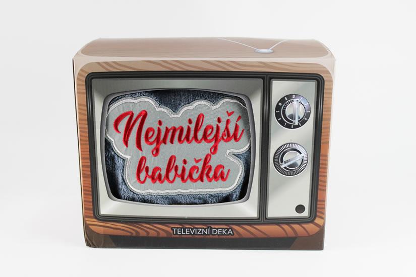 Televizní deka Nejmilejší babička - Dárky Happy Spirit