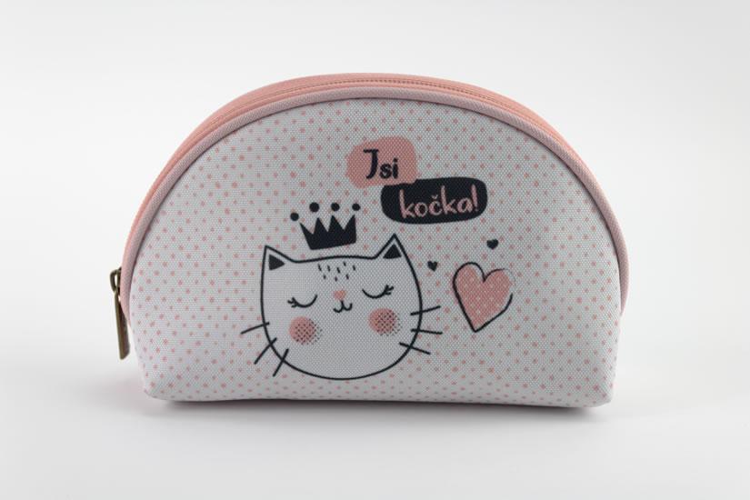Kosmetická taštička M Jsi kočka - Kosmetické taštičky