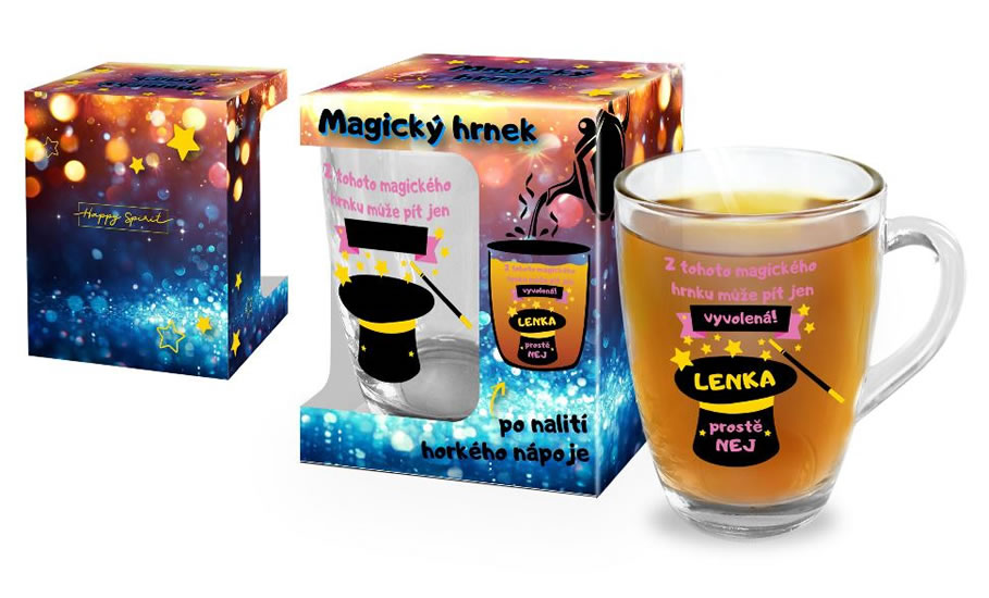 Magický hrnek Lenka