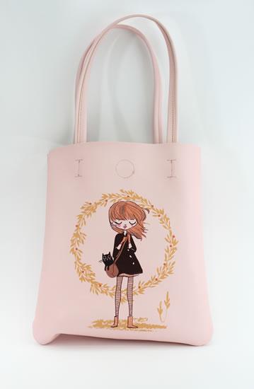 Taška přes rameno Kočka a slečna - Tašky a batůžky