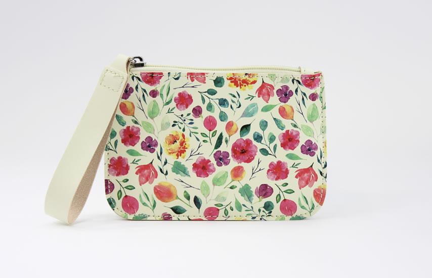 Kapsička s poutkem Květiny - Tašky a batůžky