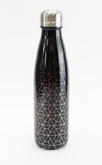 Nerezová lahev Geometrický vzor
