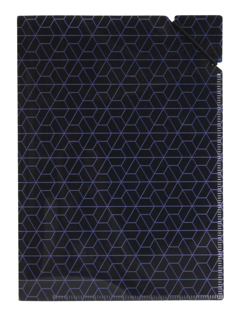 Desky A5 s gumičkou Geometrie