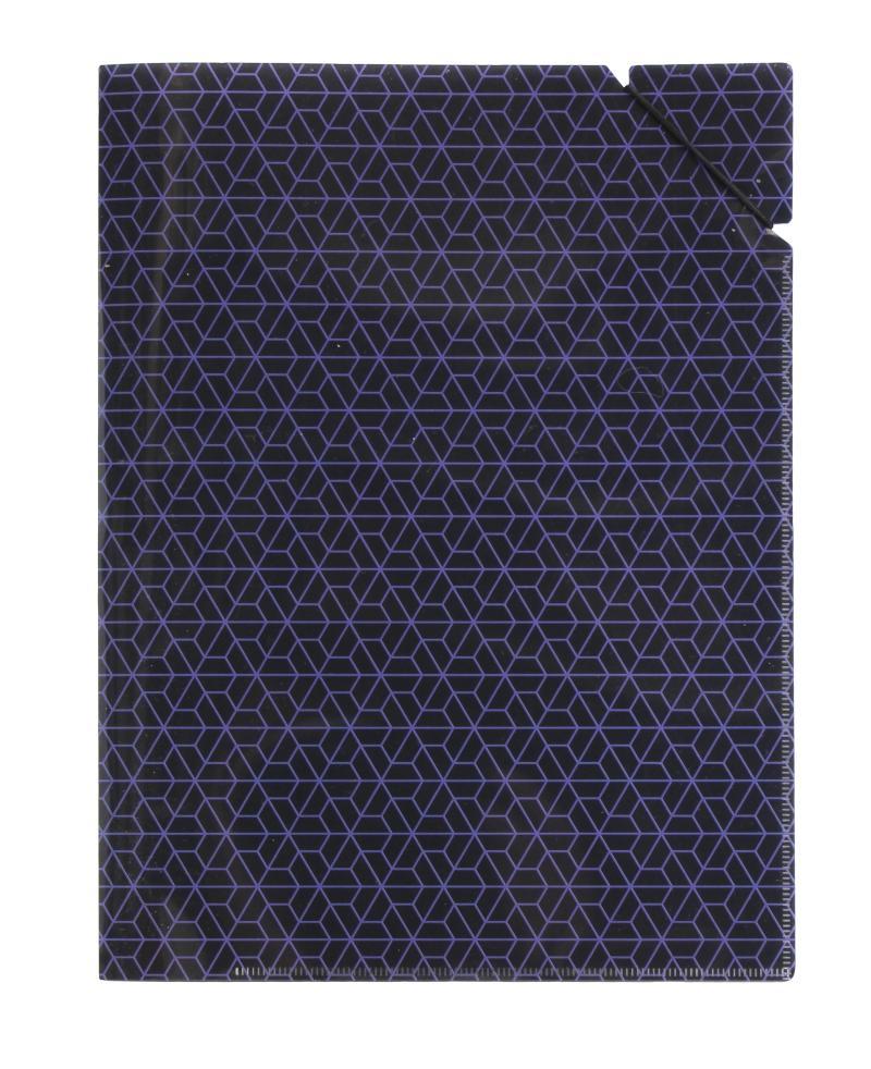 Desky A4 s gumičkou Geometrie