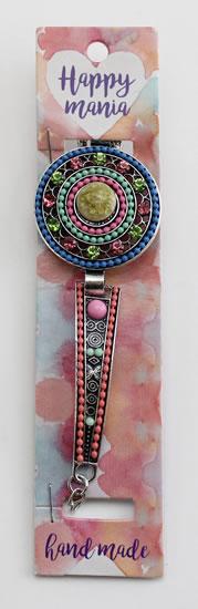 Náramek Ornament barevné korálky-Happy Mania