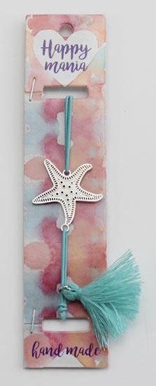 Náramek Hvězda na modré-Happy Mania