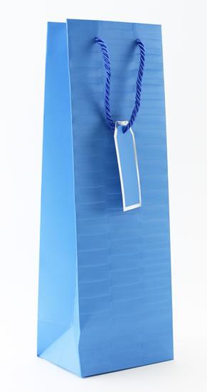 Taška lahev Modrá - Dárkové tašky