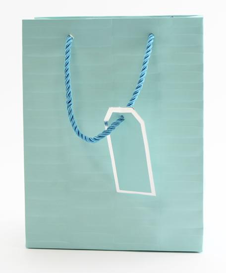 Taška medium Mentolová - Dárkové tašky