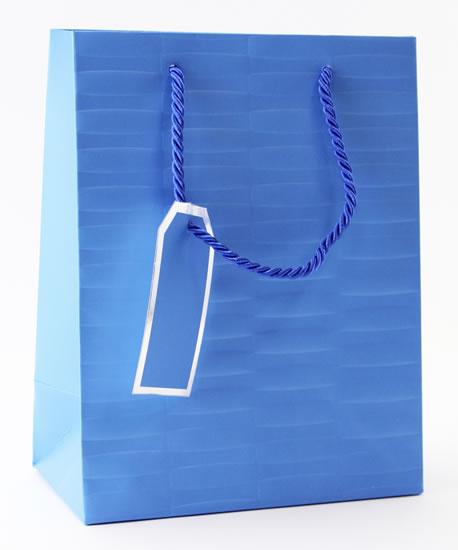 Taška medium Modrá - Dárkové tašky