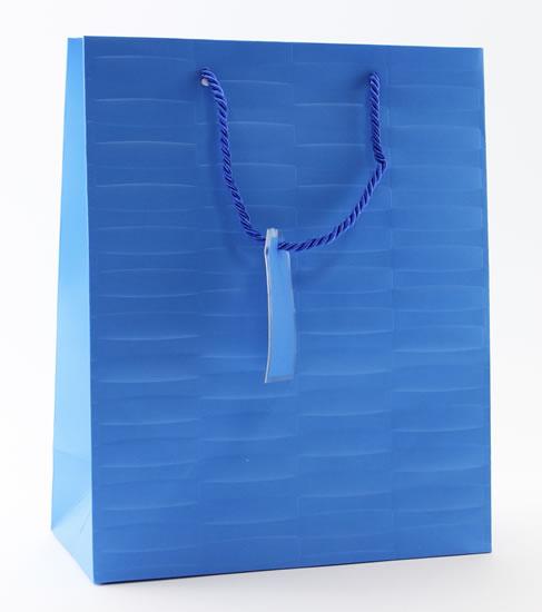 Taška large Modrá - Dárkové tašky