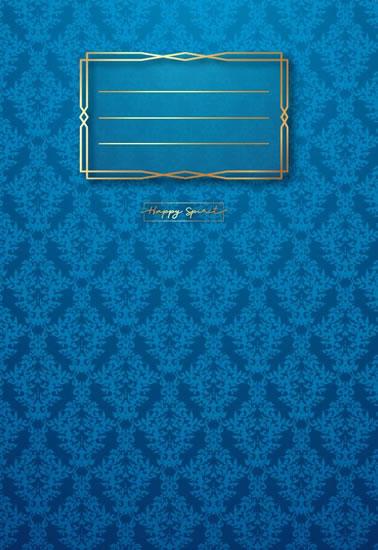 Sešit Premium modrá tapeta A5 - Sešity