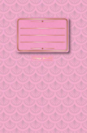 Sešit Pastel růžový A5 - Sešity