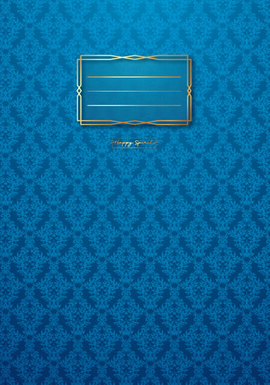 Sešit Premium modrá tapeta A4 - Sešity