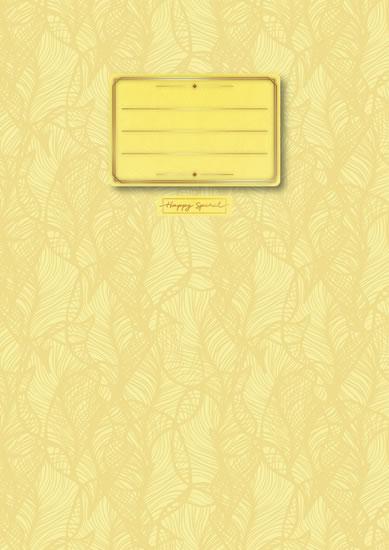 Sešit Pastel žlutý A4 - Sešity