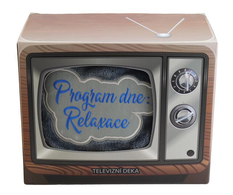 Televizní deka Program dne: Relaxace - Dárky Happy Spirit
