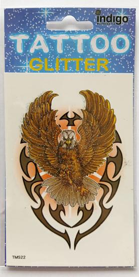 Tetování Orel na ornamentu