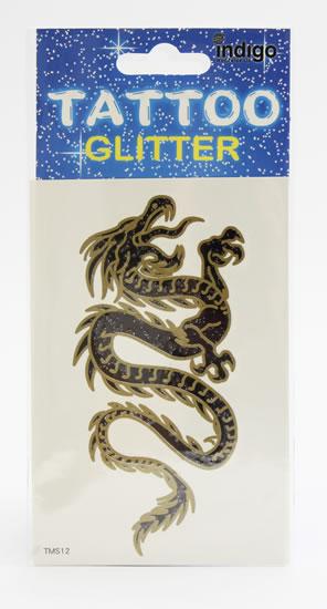 Tetování Zlatočerný drak