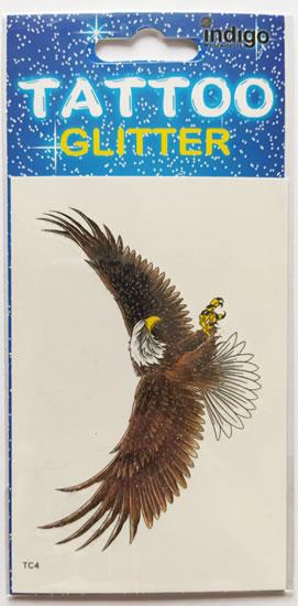Tetování Orel s roztaženýmí křídly
