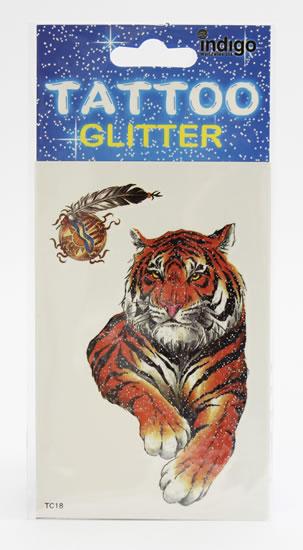 Tetování Ležící tygr