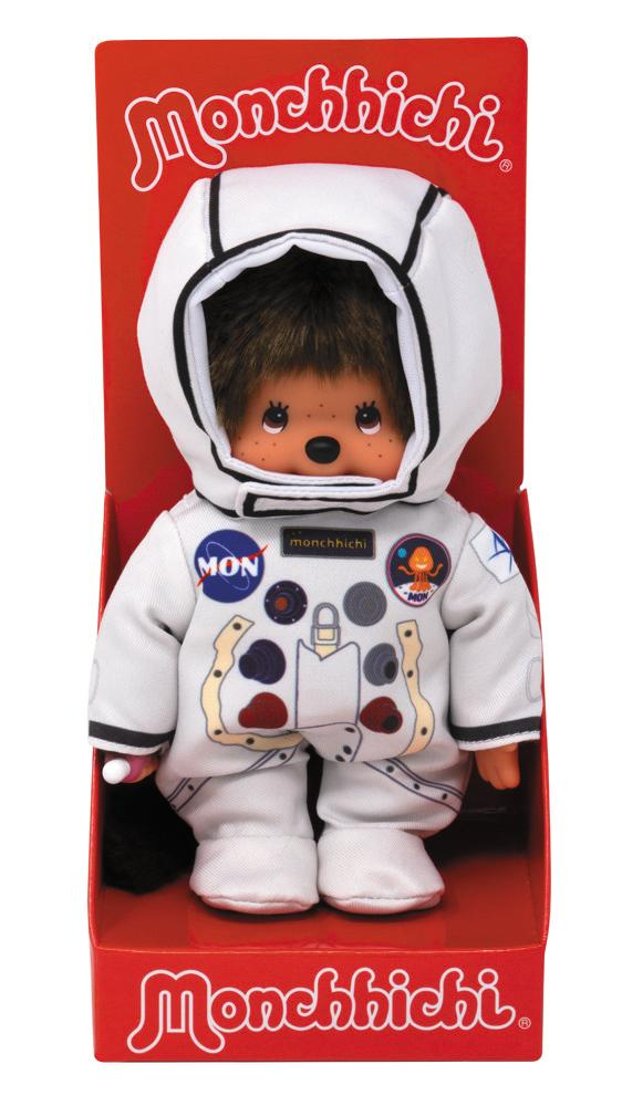 Monchhichi Exclusive - Astronaut (Mončiči)