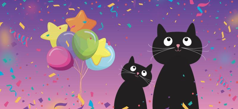 Obálka na peníze Párty kočky - Obálky na peníze