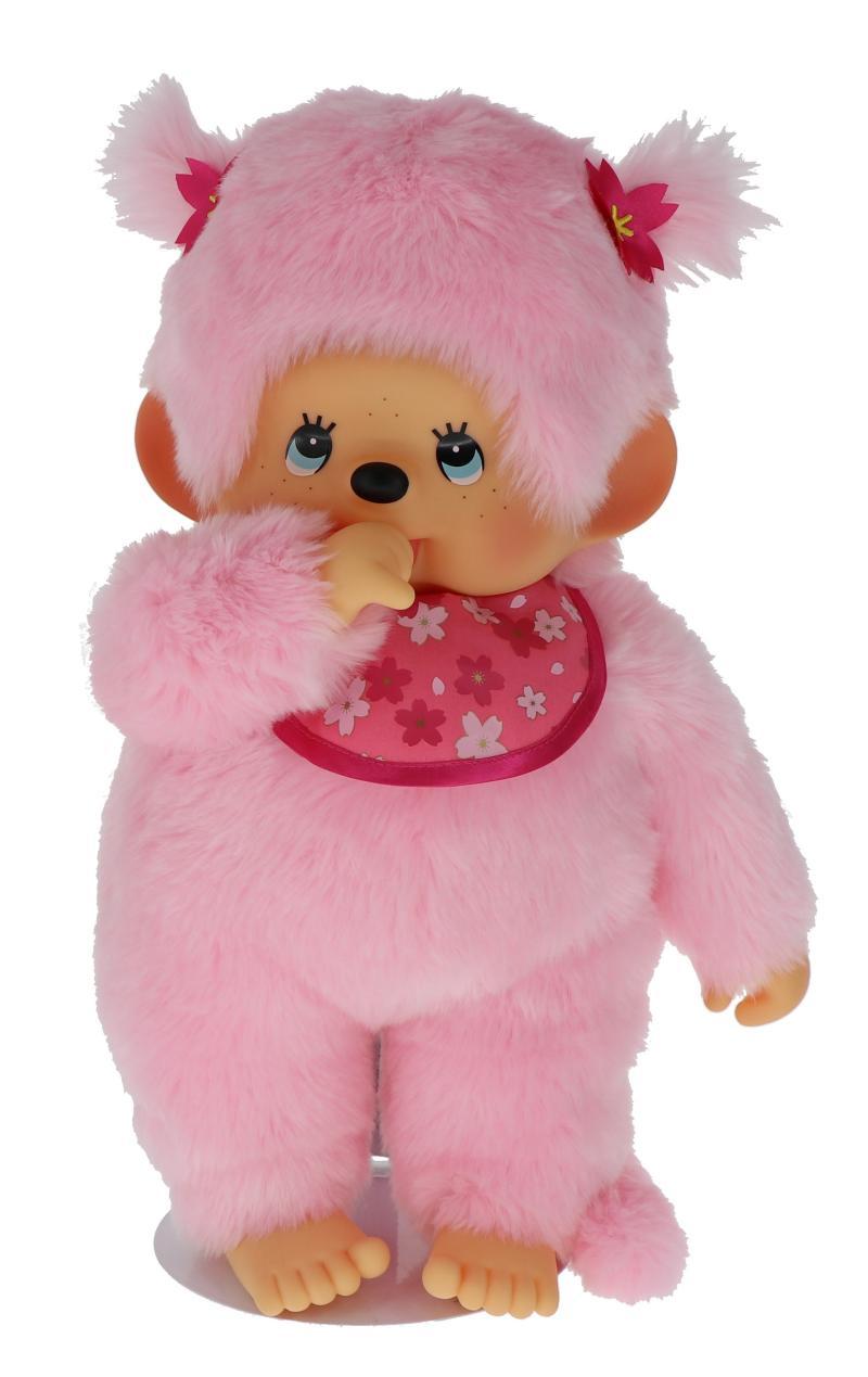 Monchhichi 45cm - růžová holka (Mončiči)