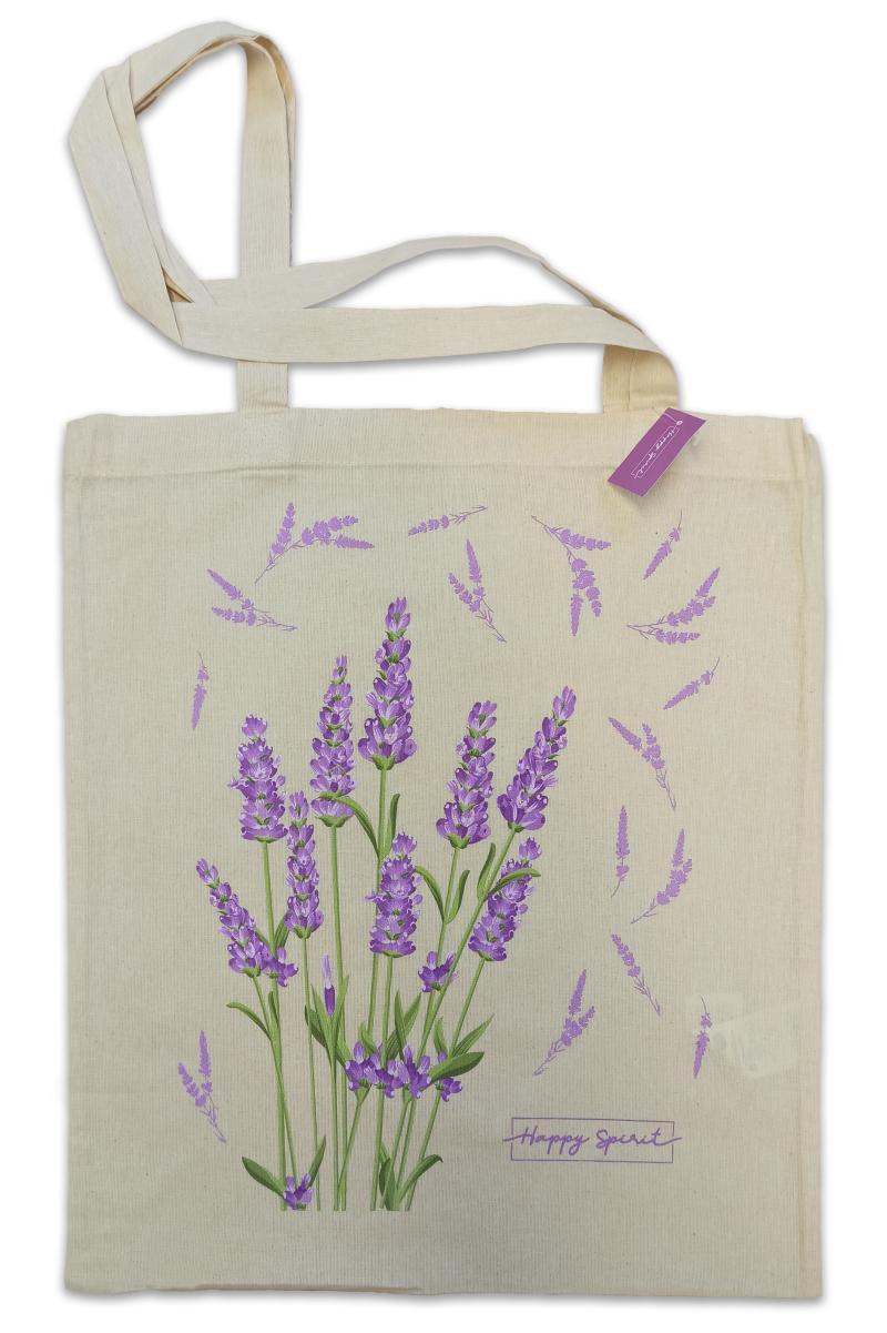 Plátěná taška Levandule - Plátěné tašky