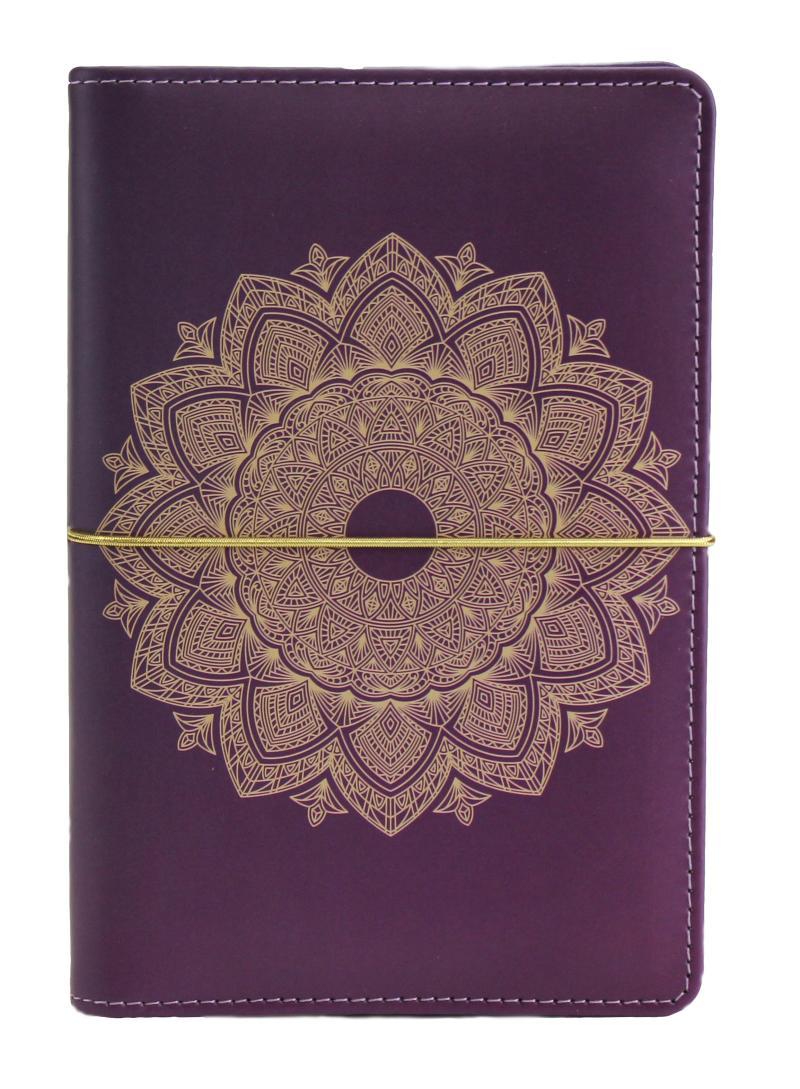 Diář UNI Mandala kroužkový M s vyměnitelným kalendáriem 2022 - Designové diáře 2022