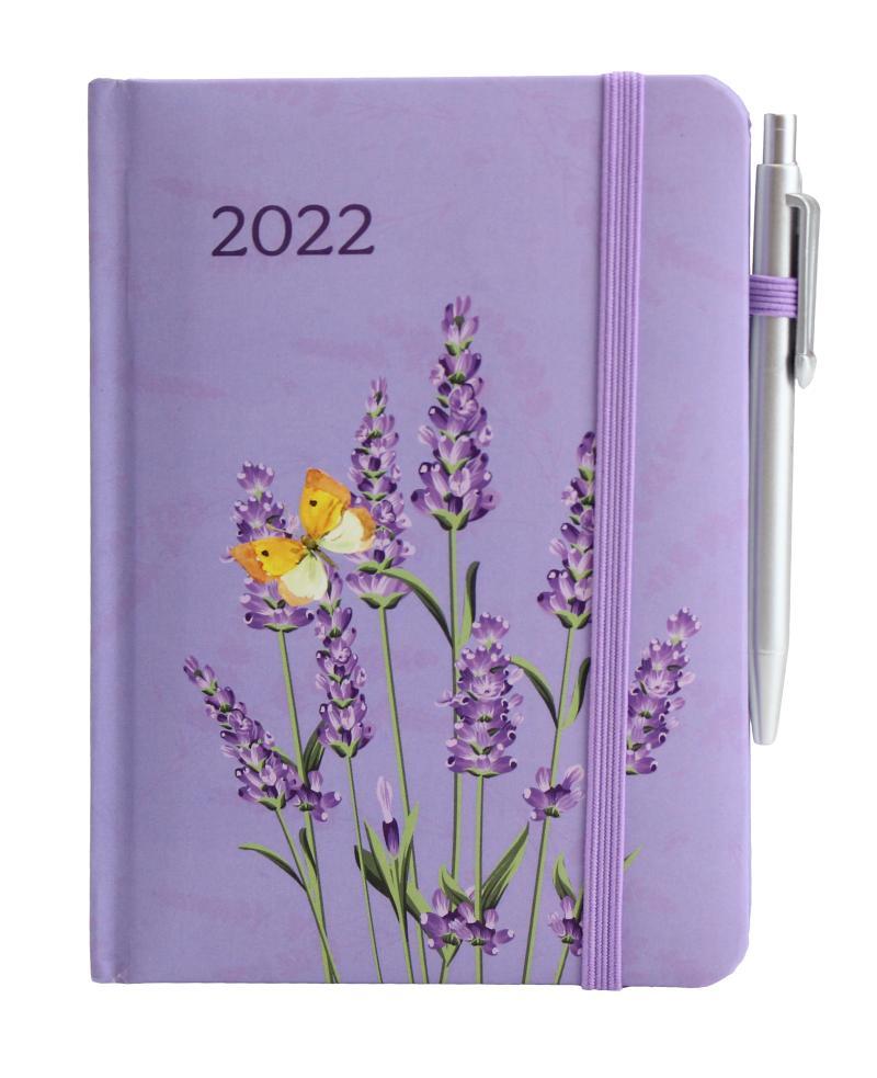 Diář 2022: Levandule/ SMART - Designové diáře 2022
