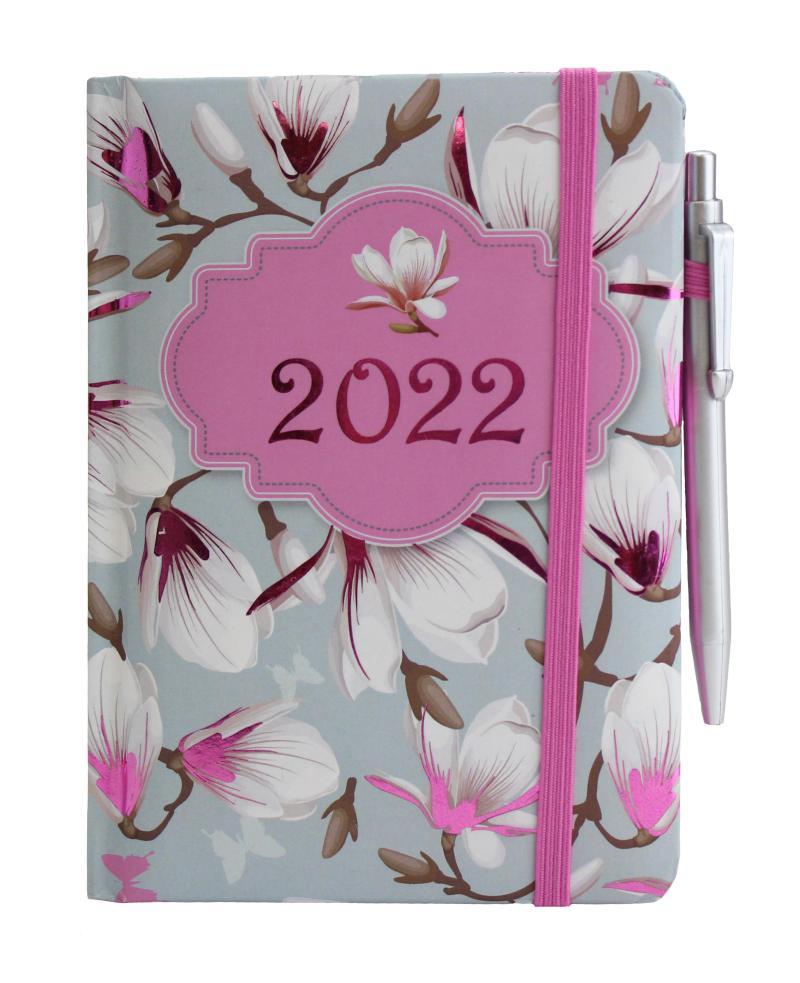 Diář 2022: Magnólie/SMART - Designové diáře 2022