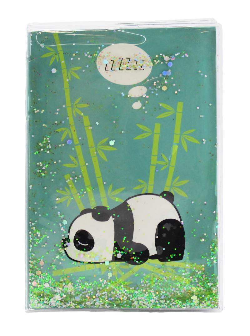 Blok glitrový Panda - Bloky a bločky
