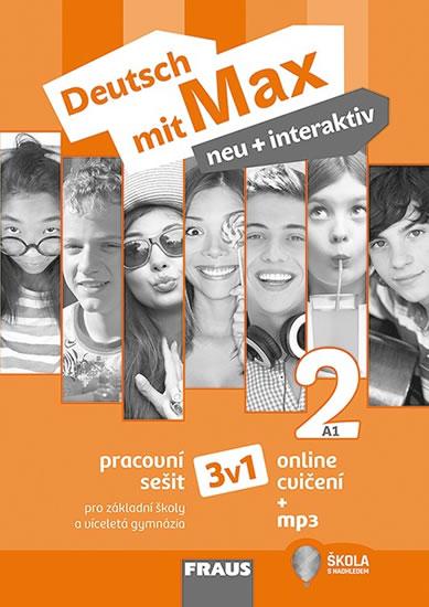 DEUTSCH MIT MAX NEU + INTERAKTIV 2 PS