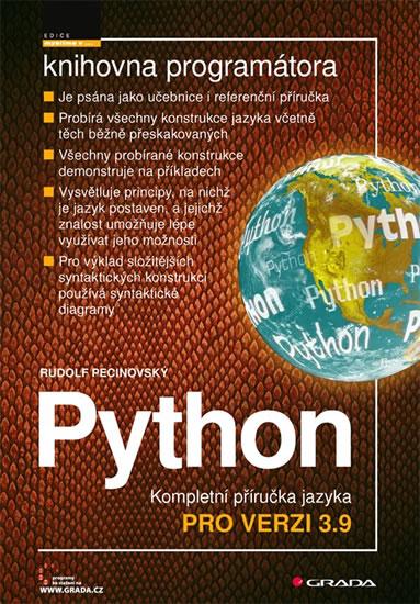 PYTHON KOMPLETNÍ PŘÍRUČKA JAZYKA PRO VERZI 3.9